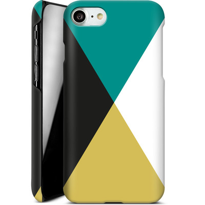 Apple iPhone 8 Smartphone Huelle - Four Triangles von caseable Designs