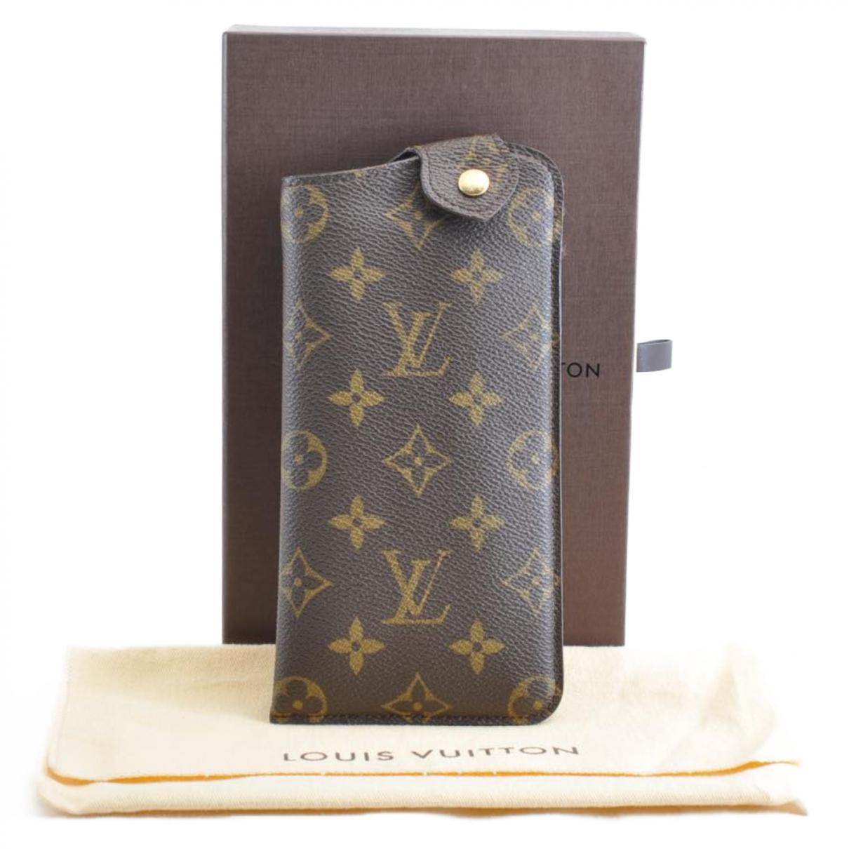 Louis Vuitton \N Schal Braun