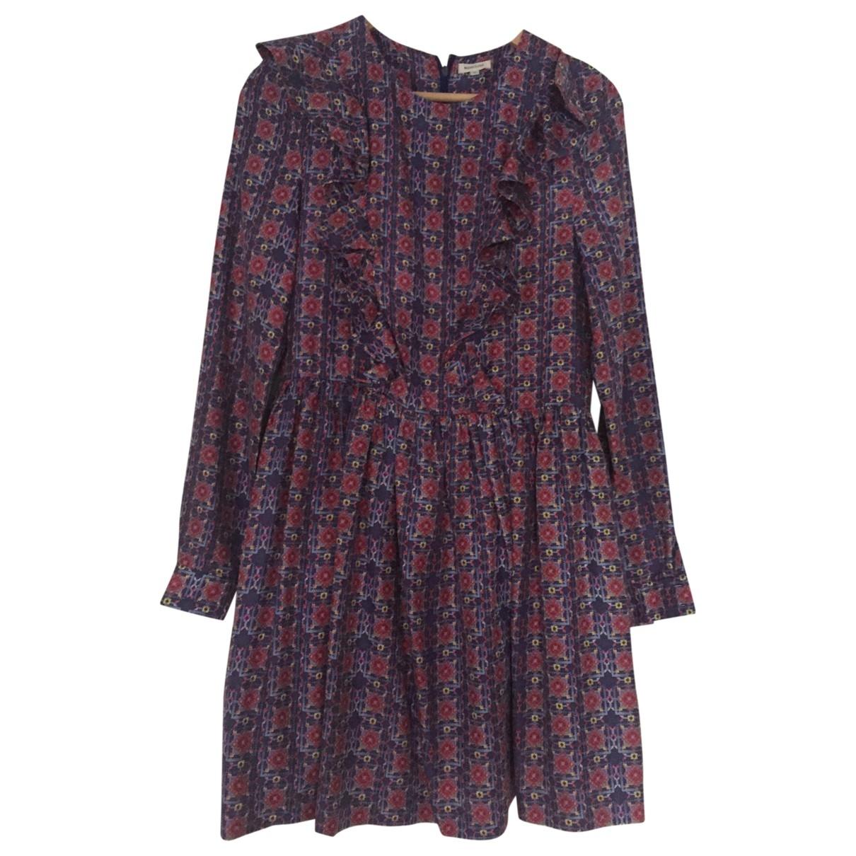 Manoush - Robe   pour femme en soie - violet
