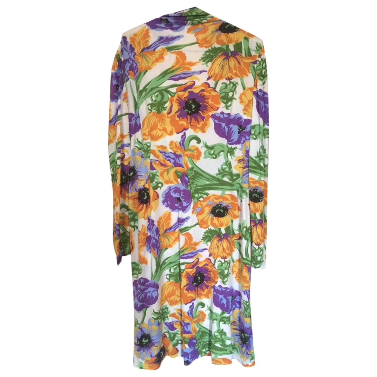 Loewe - Robe   pour femme en soie - multicolore