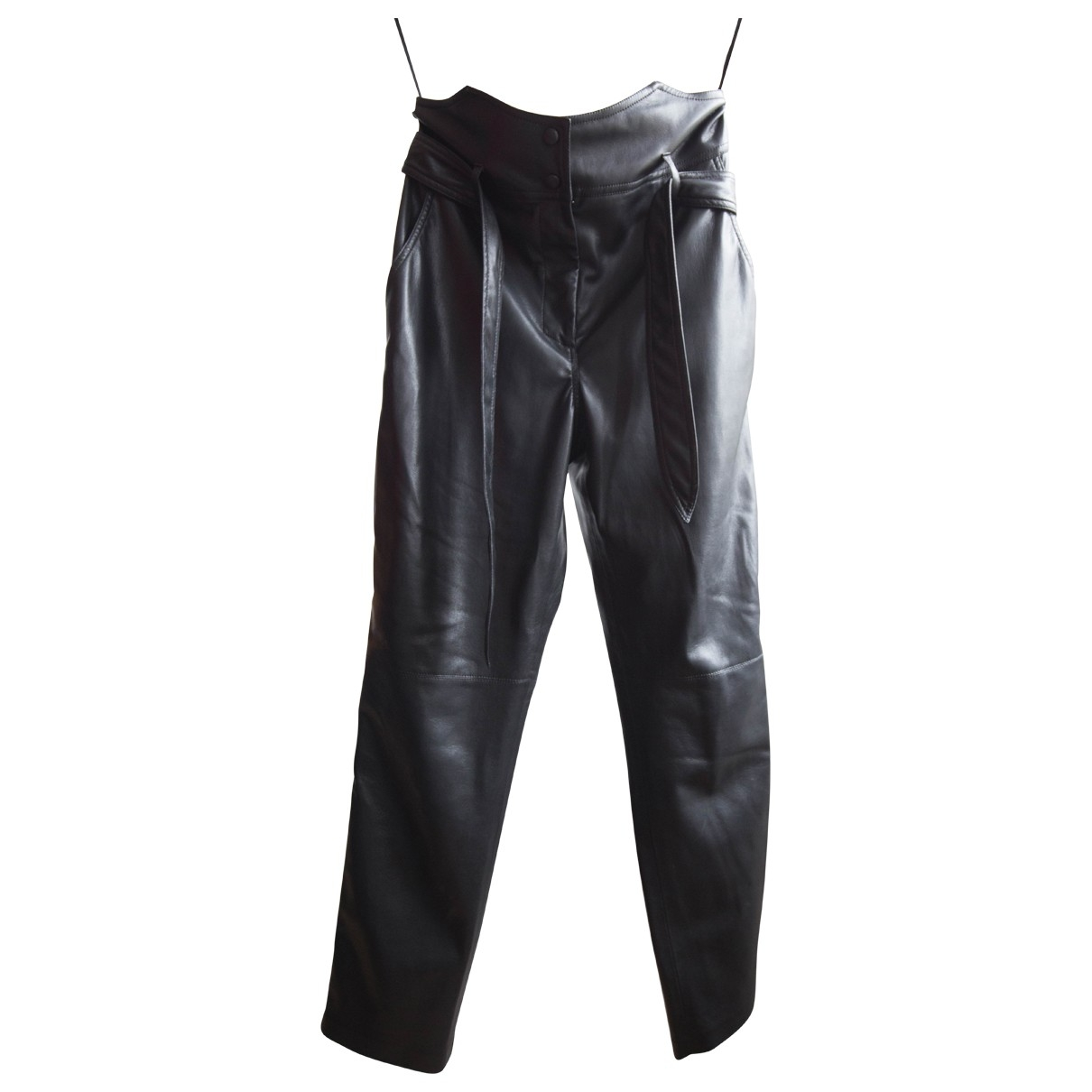 Nanushka \N Black Trousers for Women S International