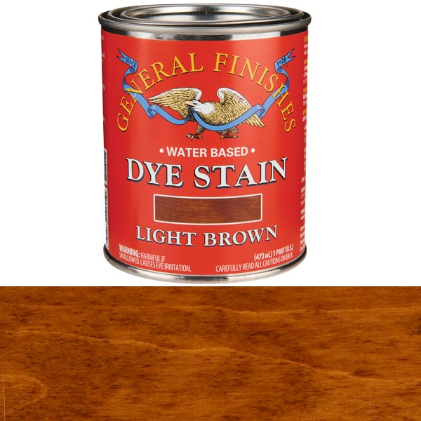 Light Brown Dye Water Based Pint