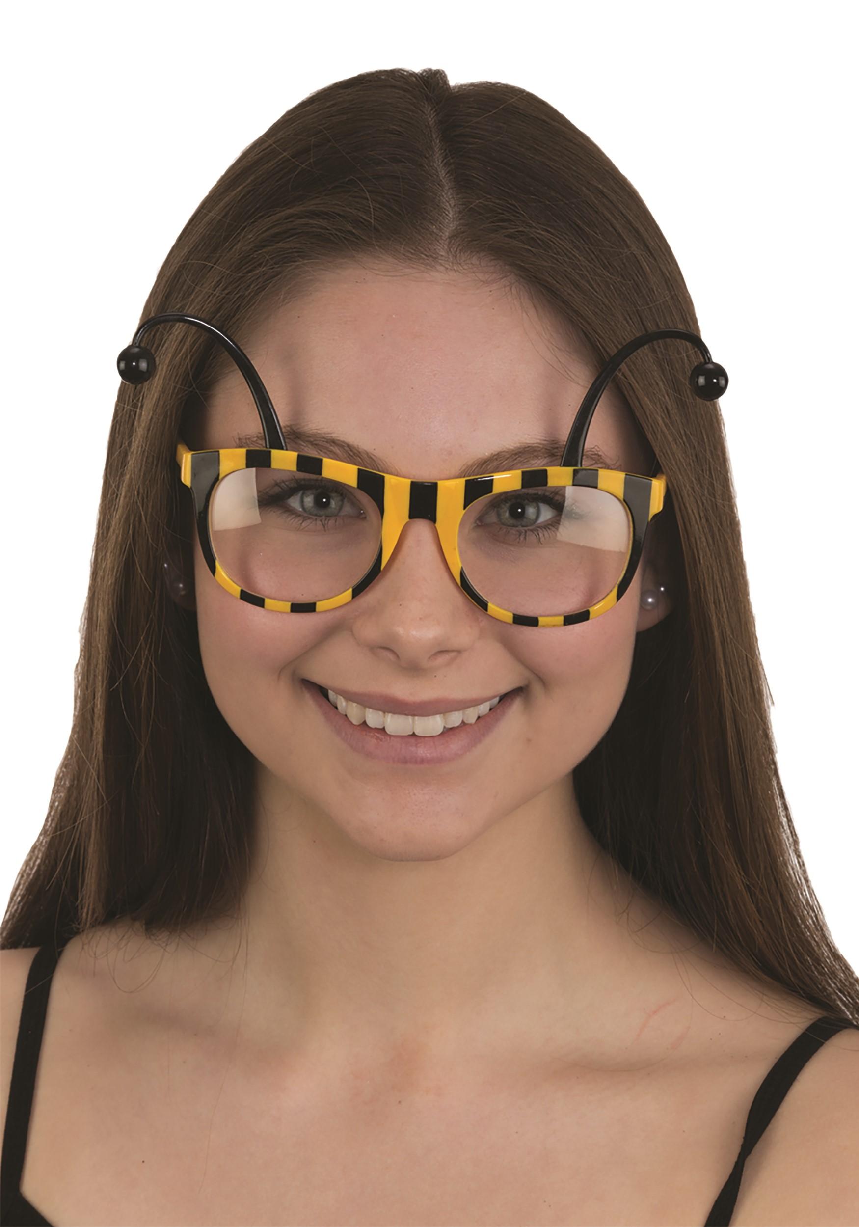 Bee Glasses Costume Accessory