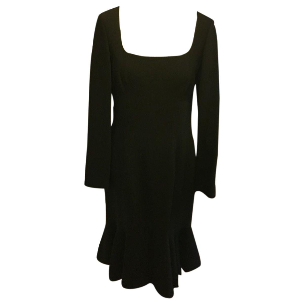Jaeger - Robe   pour femme en laine - noir