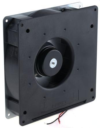 ebm-papst Centrifugal Fan 180 x 180 x 40mm, 87.5m³/h, 12 V dc DC (RG125 Series)