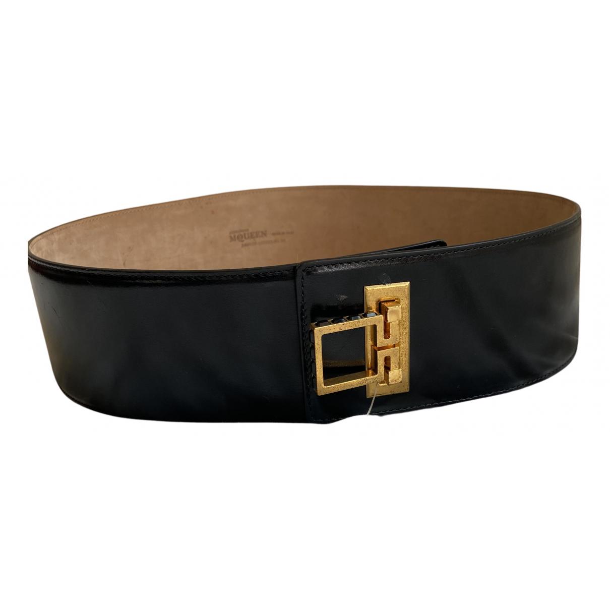 Cinturon de Cuero Alexander Mcqueen