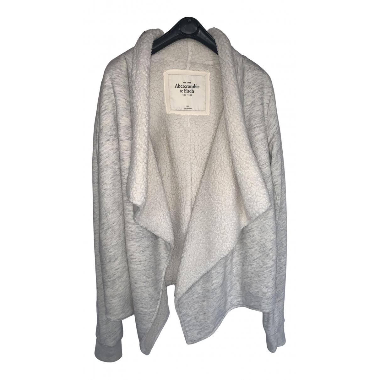 Abercrombie & Fitch - Robe   pour femme en coton - gris