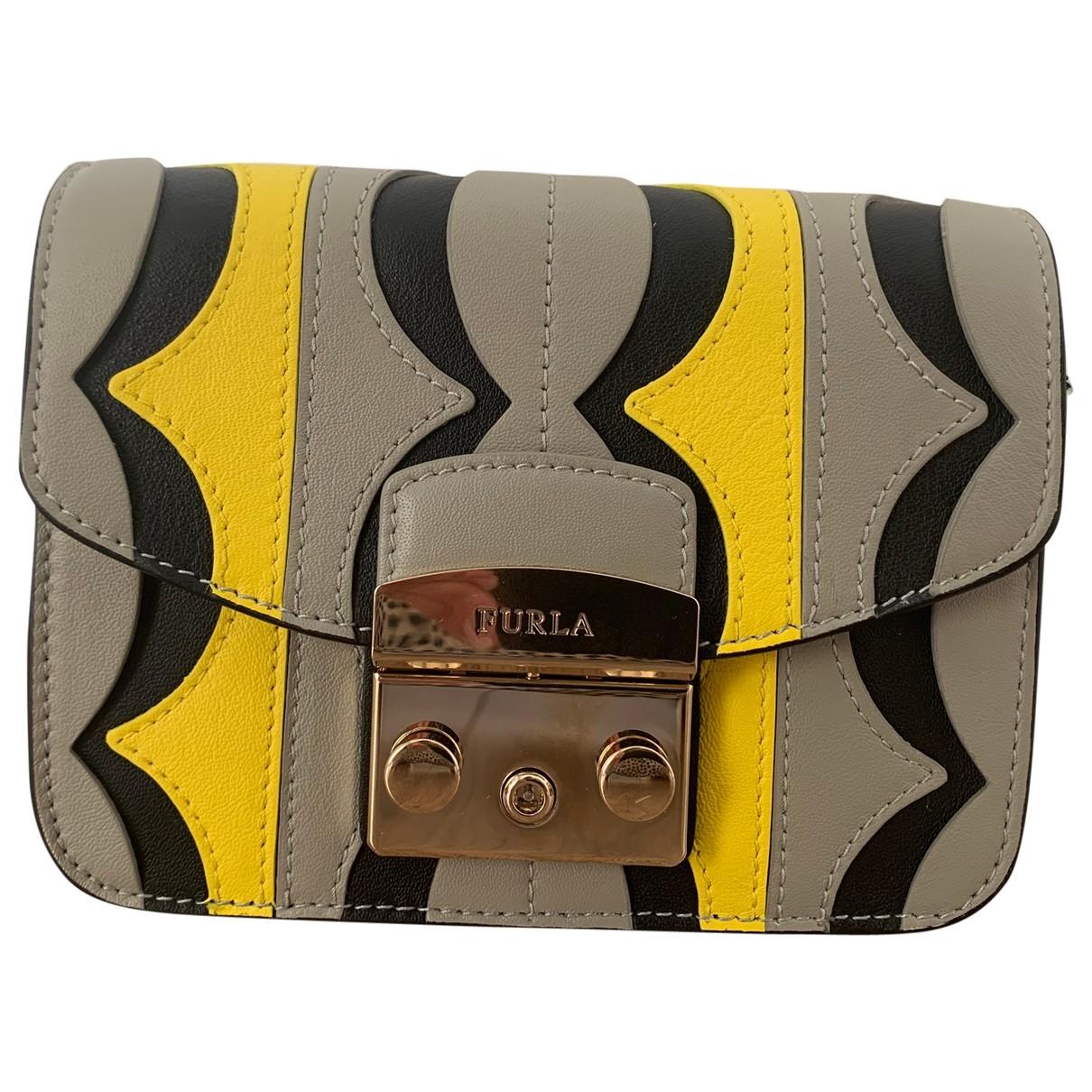 Furla Metropolis Handtasche in  Bunt Leder