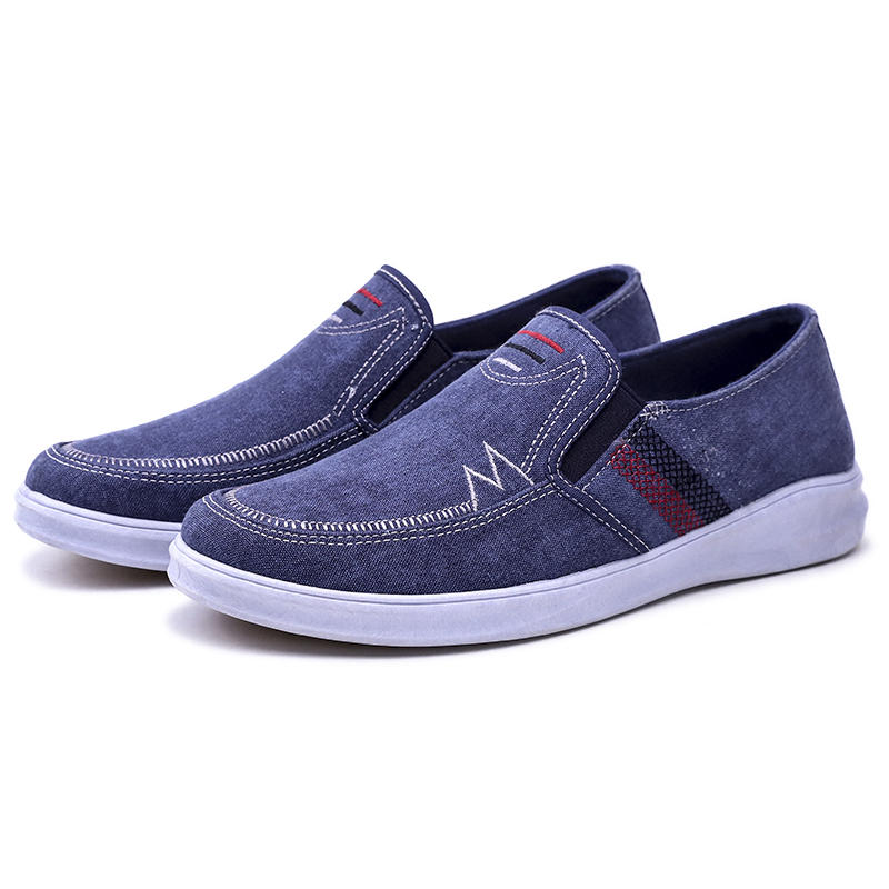 Canvas Soft Sole Lightweight Casual Loafers