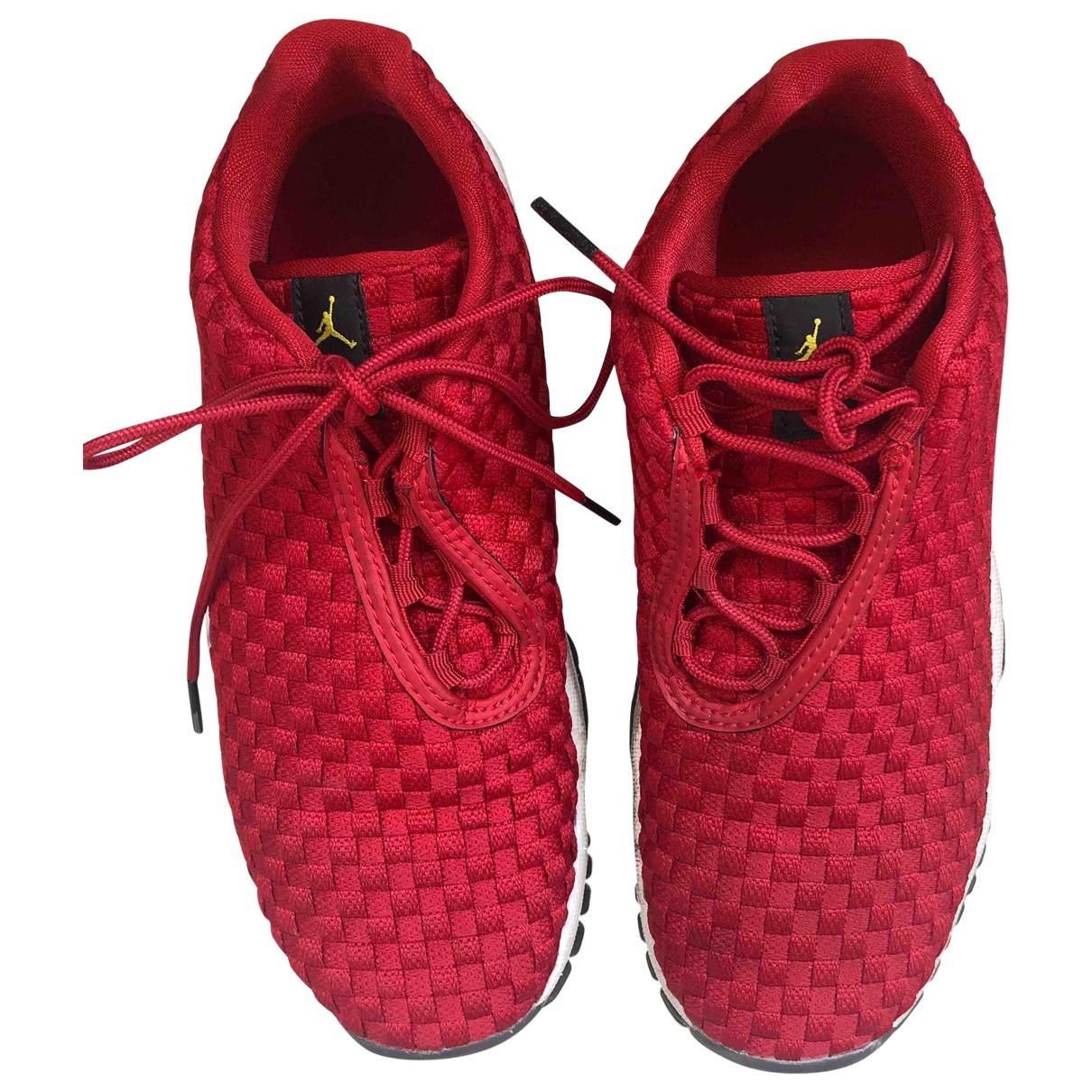 Jordan - Baskets Air Jordan Future pour enfant en toile - rouge