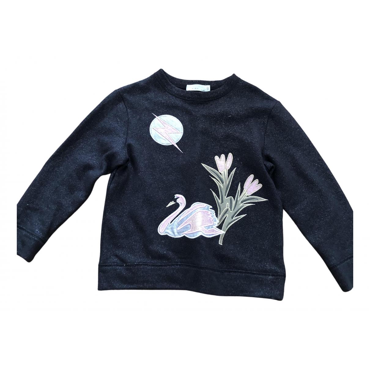 Stella Mccartney - Pull   pour enfant en coton - noir
