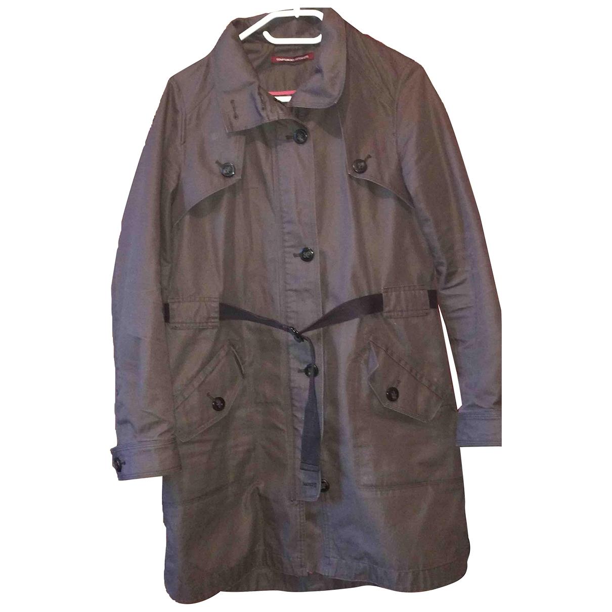 Comptoir Des Cotonniers \N Brown Cotton coat for Women 40 FR