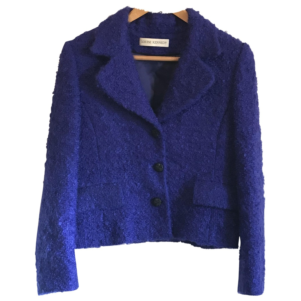 Louise Kennedy \N Jacke in  Blau Wolle