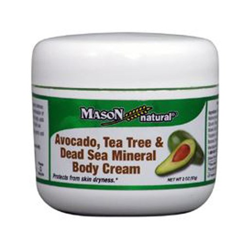 Avocado - Tea Tree & Dead Sea Mineral Body Cream 2 oz by Mason