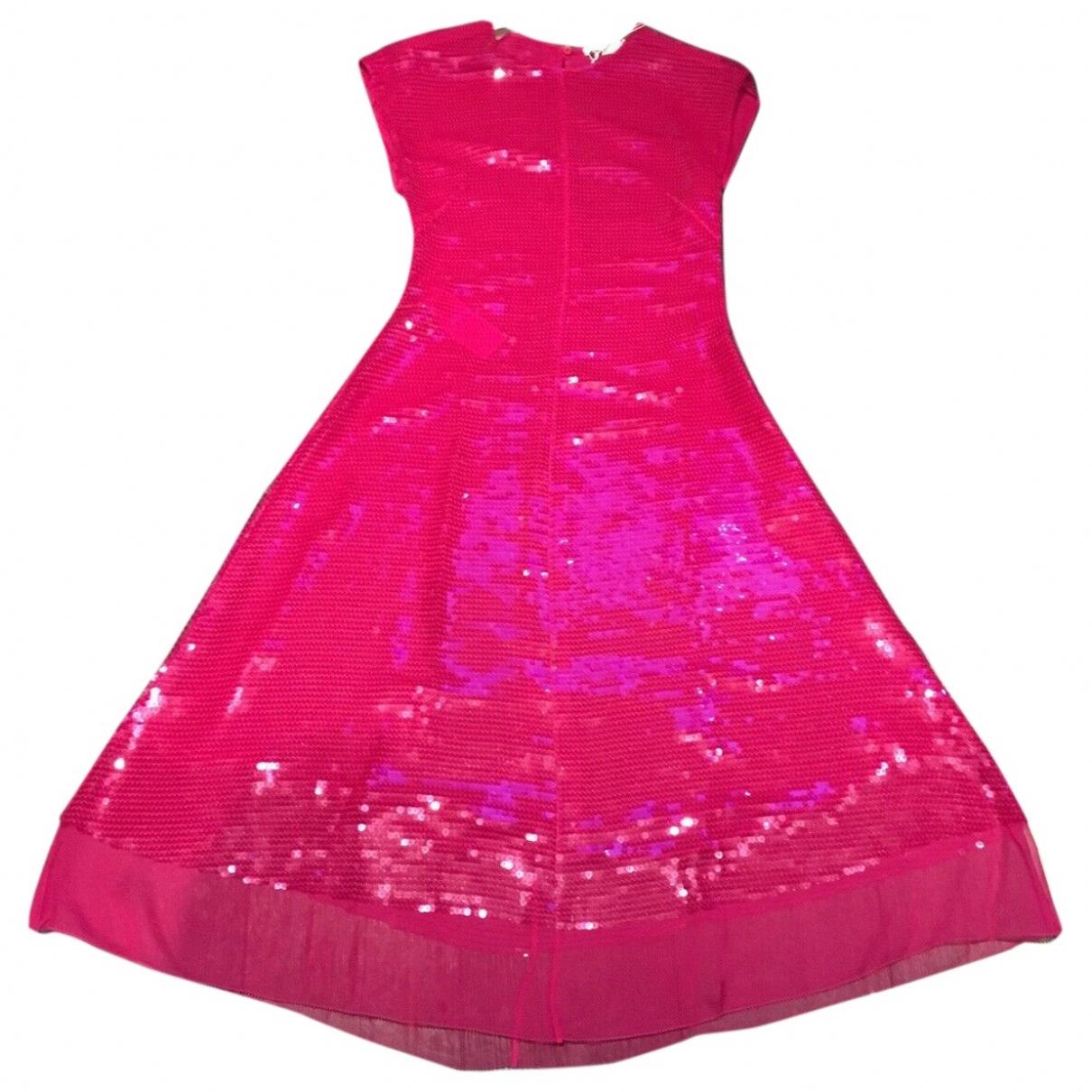 Stella Mccartney \N Pink Silk dress for Women 40 IT