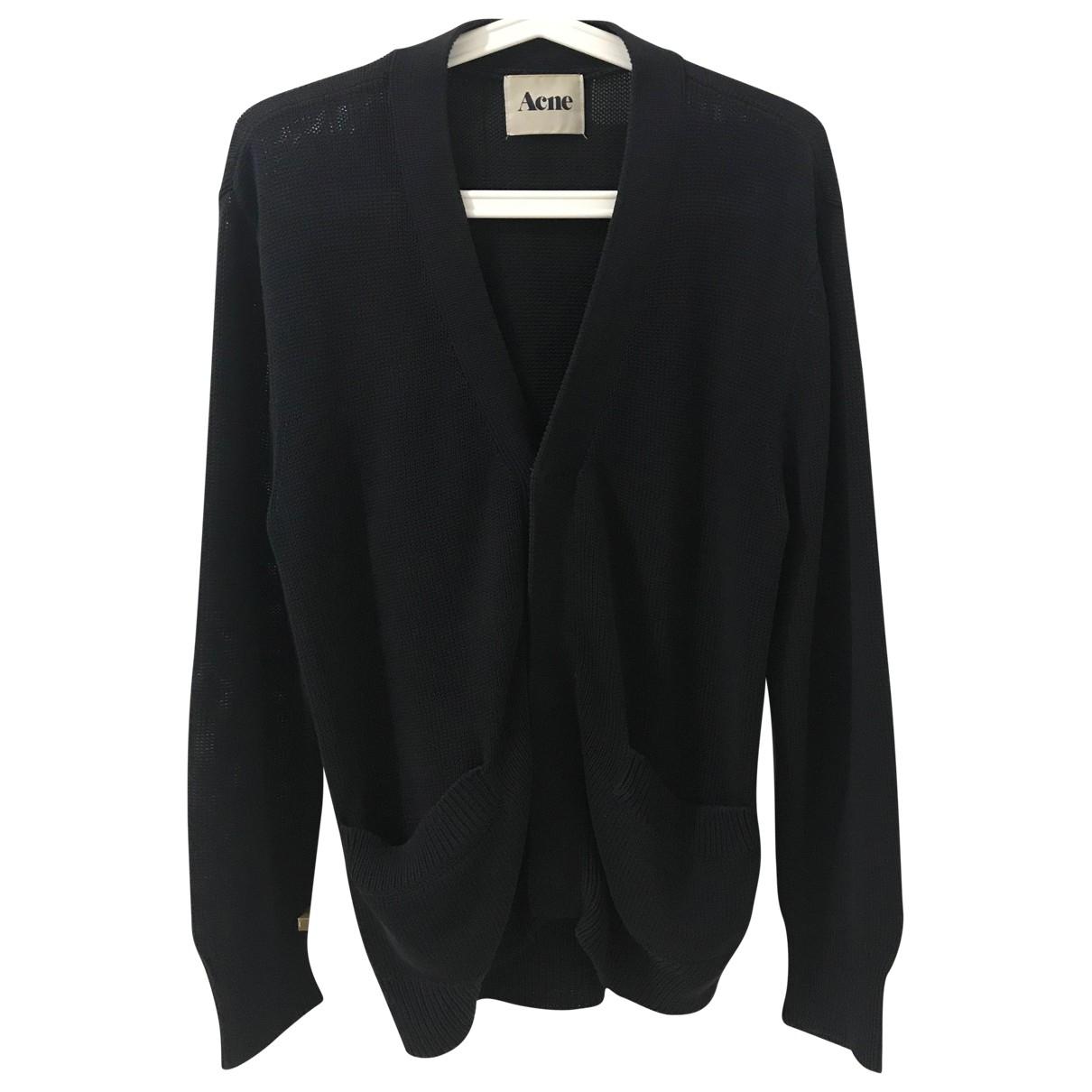 Acne Studios \N Navy Cotton Knitwear & Sweatshirts for Men XS International
