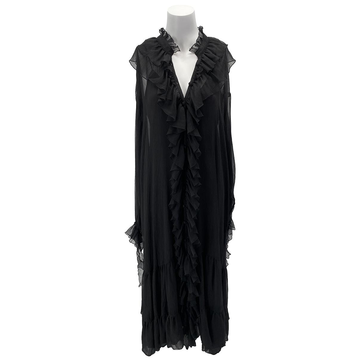 Rotate \N Kleid in  Schwarz Seide
