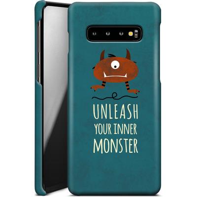 Samsung Galaxy S10 Plus Smartphone Huelle - Unleash Your Inner Monster von Statements
