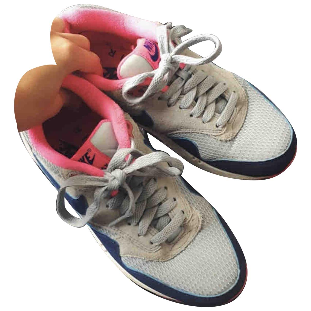 Nike - Baskets Air Max 1 pour femme en toile - rose