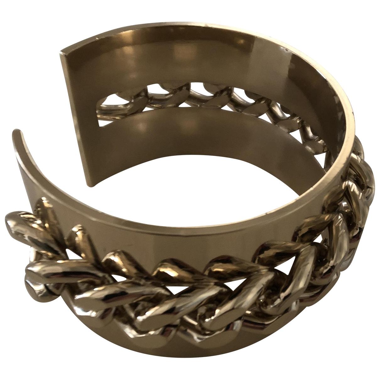 Elisabetta Franchi - Bracelet   pour femme en metal - dore