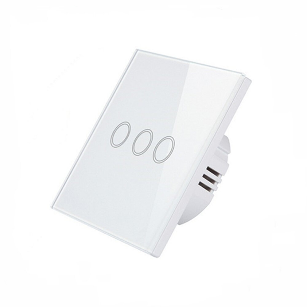 Bakeey 100V-250V Smart WIFI+RF433 Touch Wall Switch Tuya Smart Life APP Remote Control Timer Work With Amazon Alexa Goog