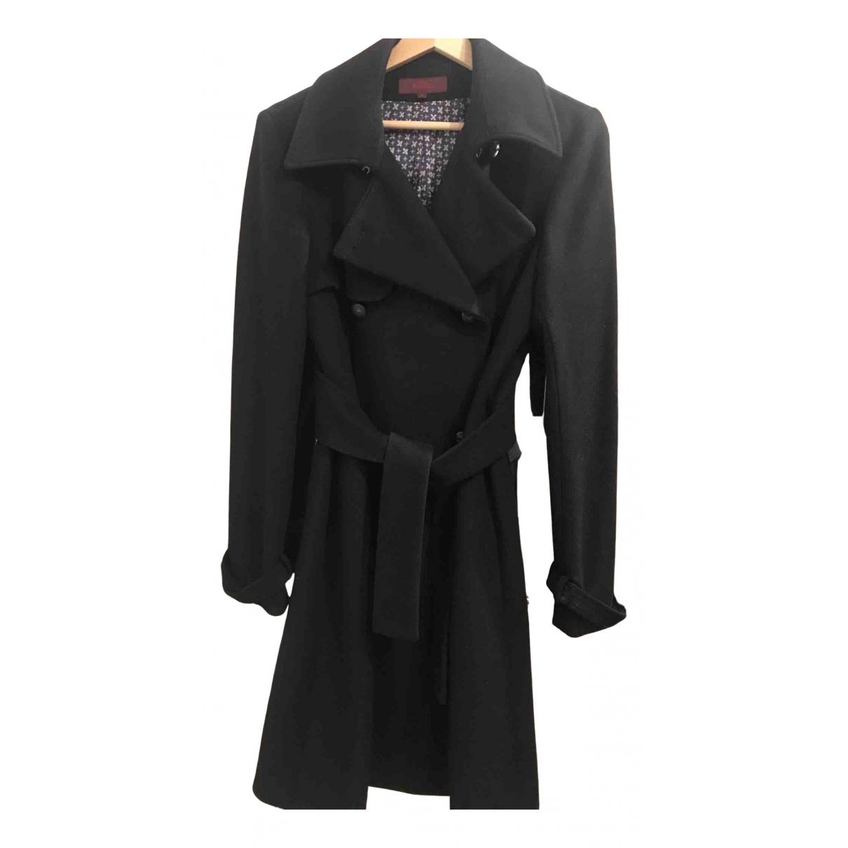 Kenzo N Black Cashmere coat for Women 36 FR