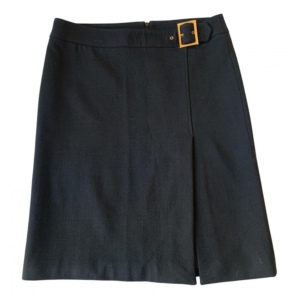 Dolce & Gabbana N Black Wool skirt for Women 42 IT
