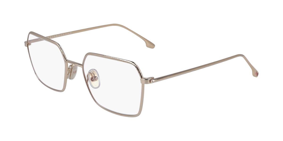 Victoria Beckham VB2104 770 Women's Glasses Gold Size 53 - Free Lenses - HSA/FSA Insurance - Blue Light Block Available