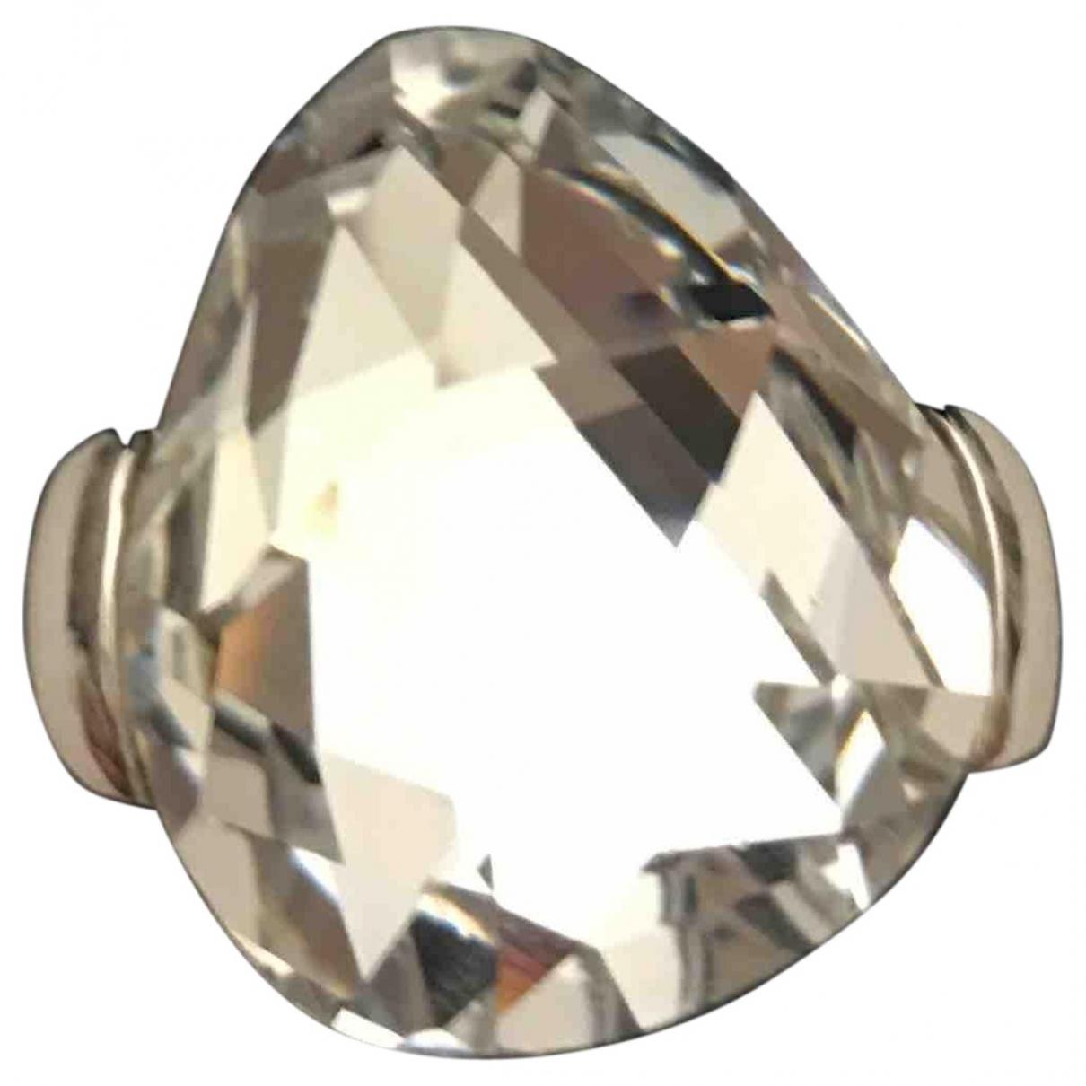Swarovski Fit Ring in  Weiss Kristall