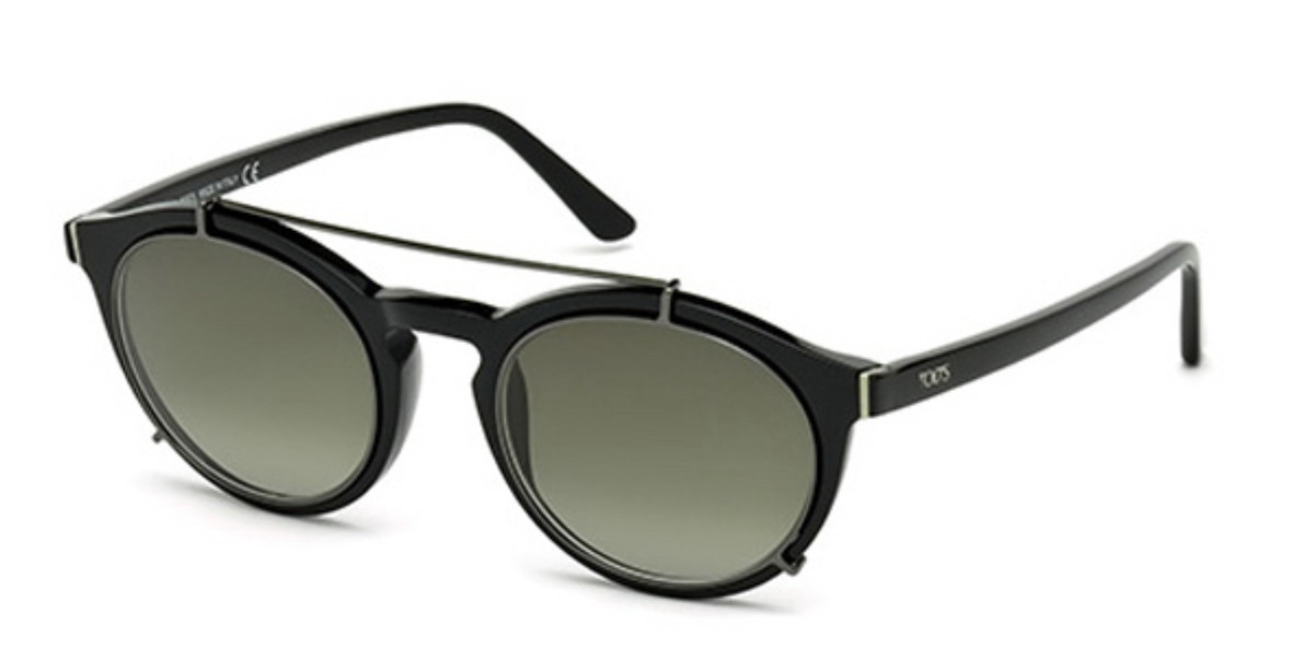 TODS TO0180 01P Women's Sunglasses Black Size 51