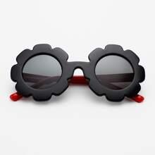 Toddler Kids Flower Frame Polarized Sunglasses