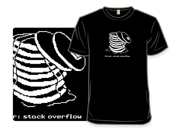 Stack Overflow T Shirt