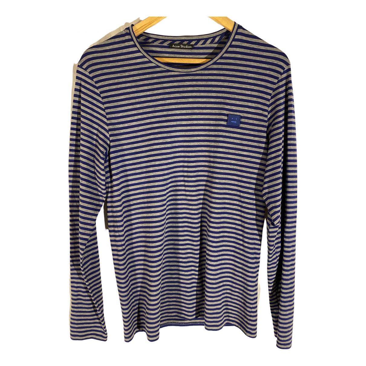 Acne Studios N Grey Cotton T-shirts for Men M International