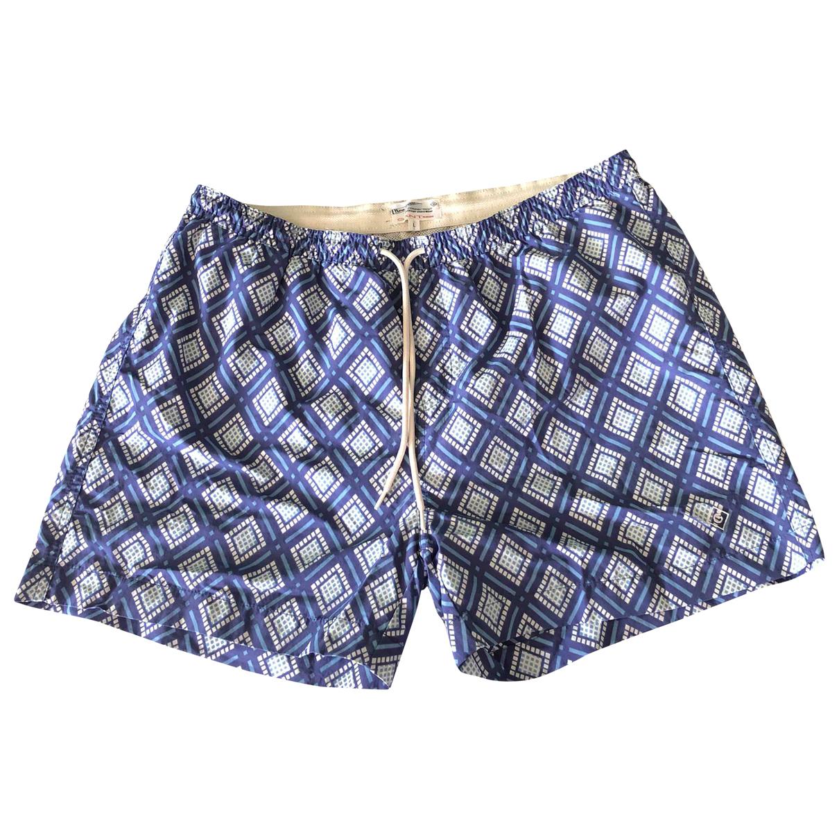 Gant Rugger \N Badeanzug in  Blau Synthetik