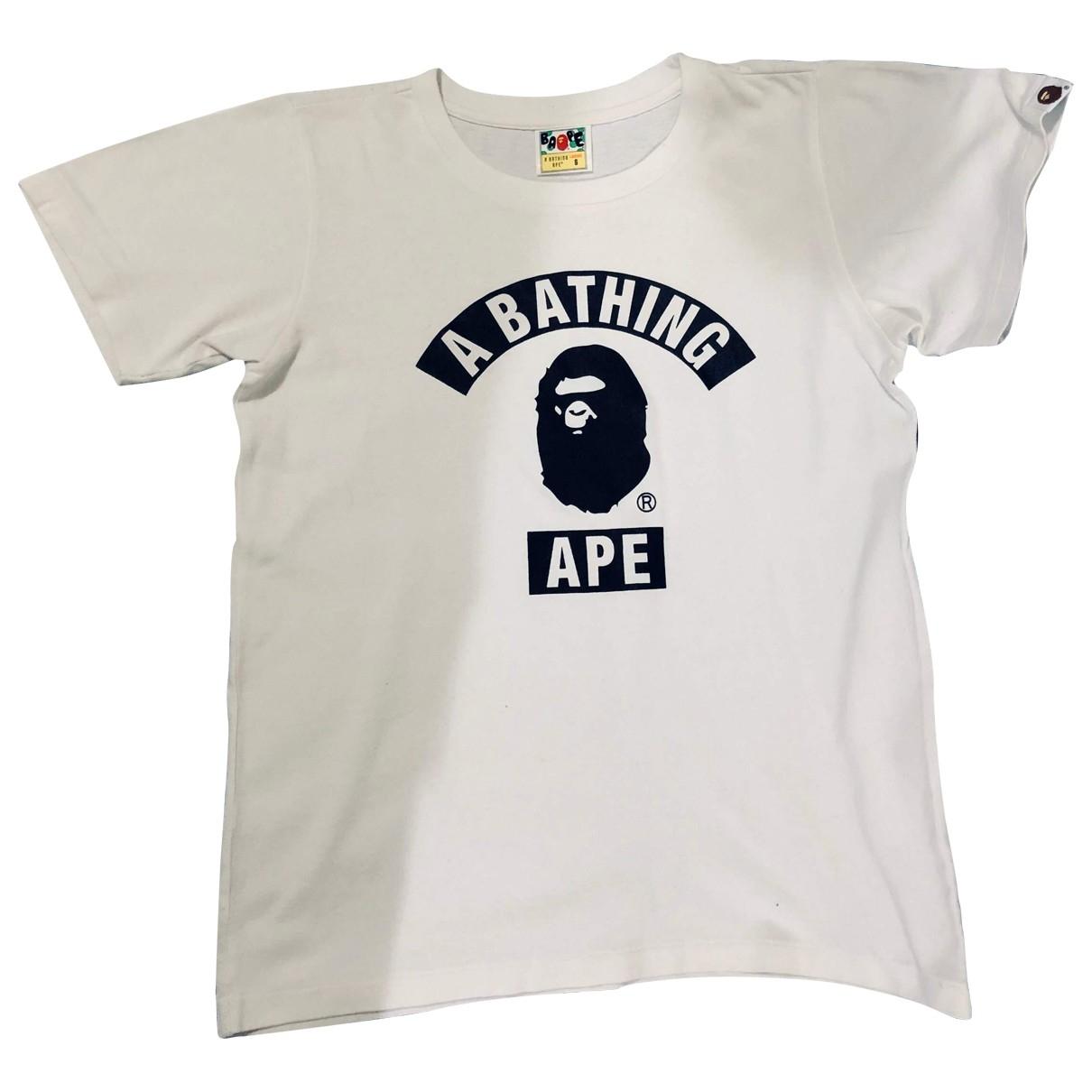 A Bathing Ape - Top   pour femme en coton - blanc