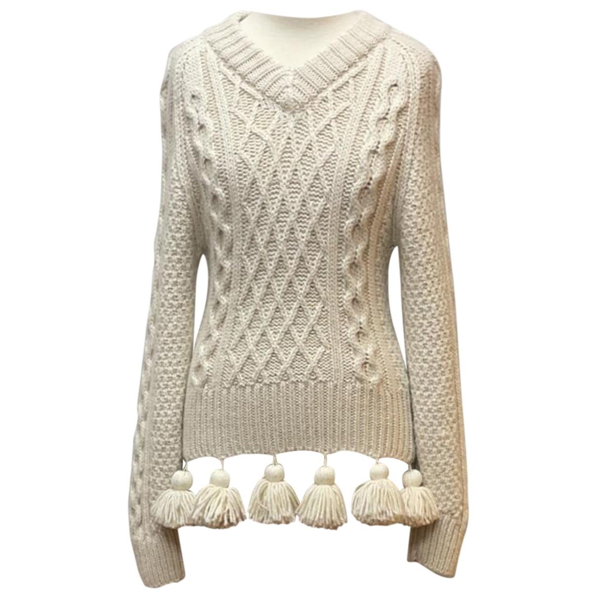 Rosie Assoulin - Pull   pour femme en laine - beige