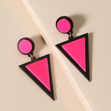 Geometric Drop Earrings