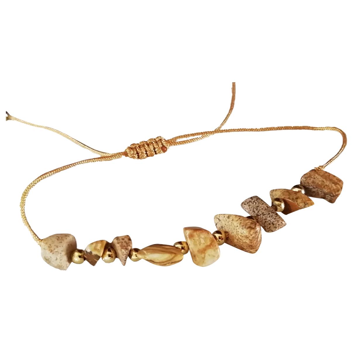 Non Signé / Unsigned N Ecru Pearls bracelet for Women N