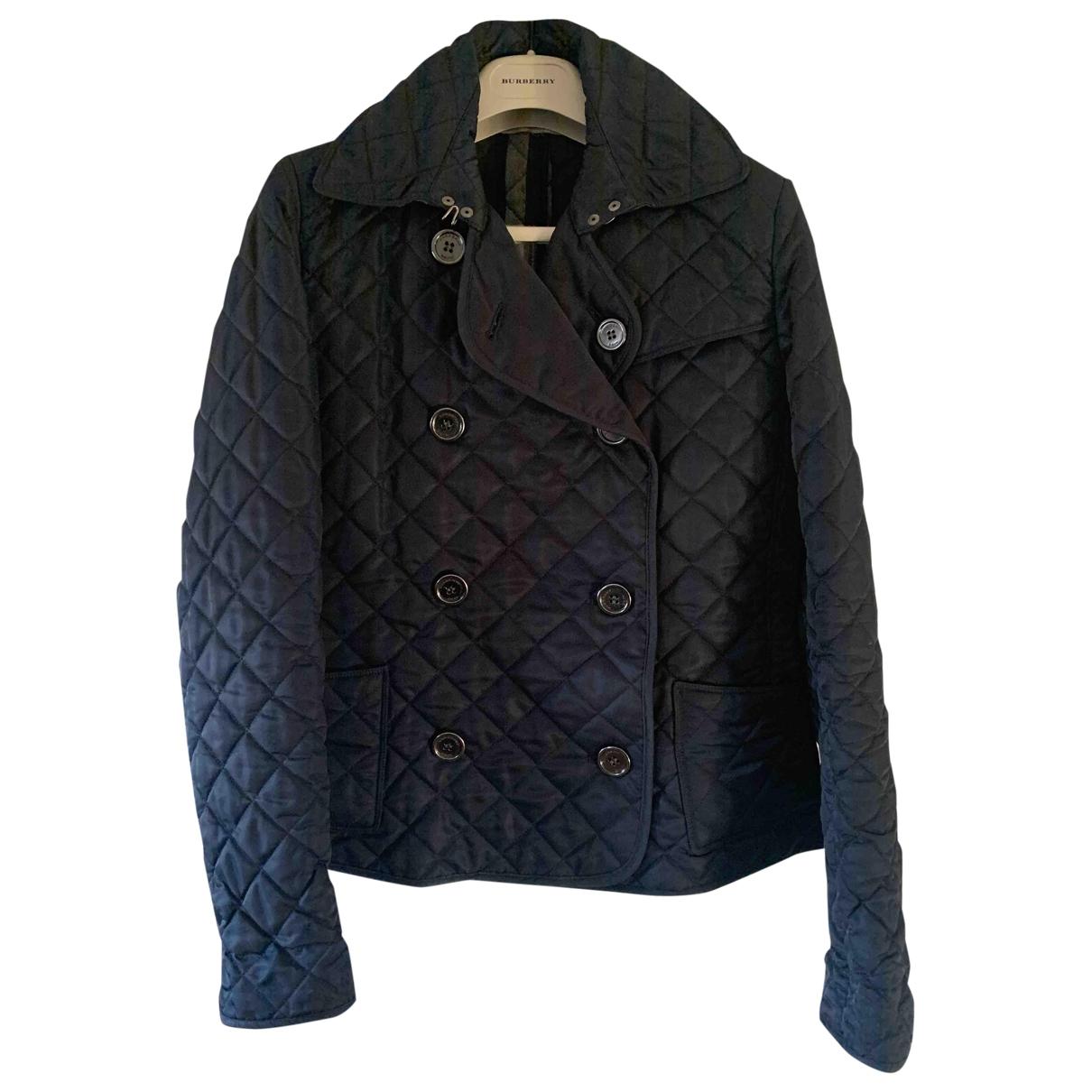Burberry \N Blue Cotton jacket for Women 40 IT