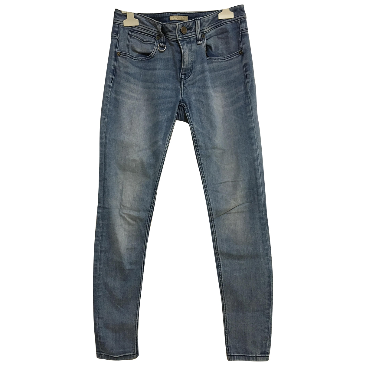 Burberry \N Blue Denim - Jeans Jeans for Women 26 US