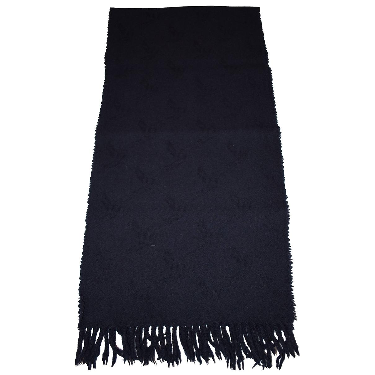 Fendi \N Blue Wool scarf for Women \N