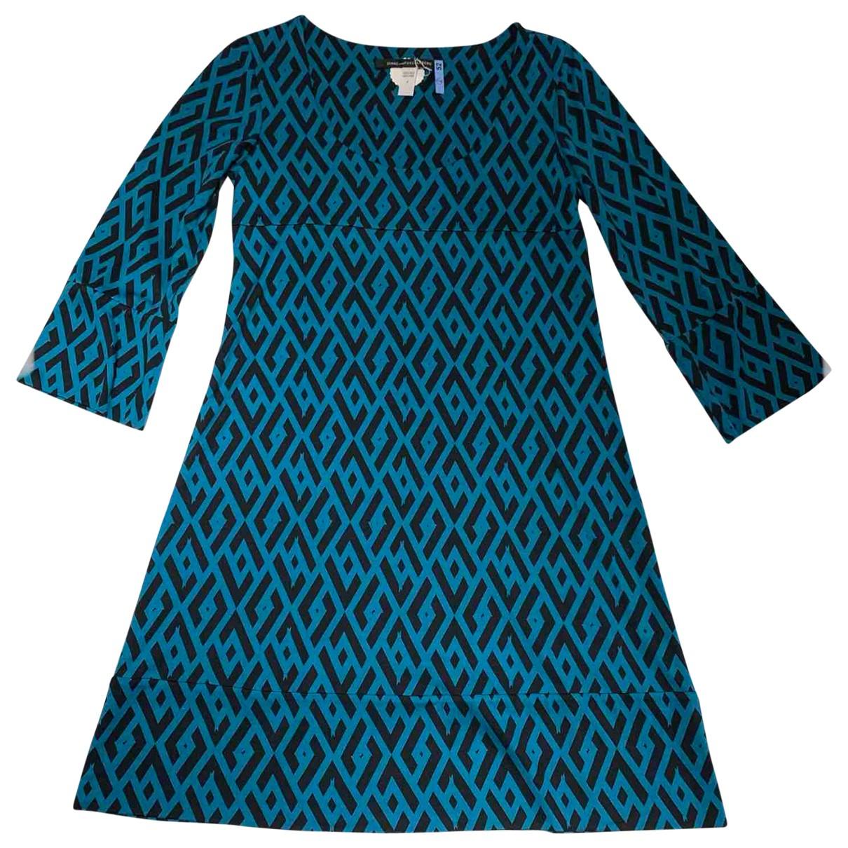 Vestido midi de Seda Diane Von Furstenberg