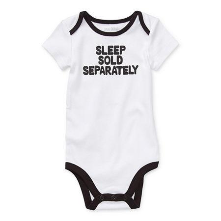 Okie Dokie Baby Unisex Bodysuit, 3 Months , White