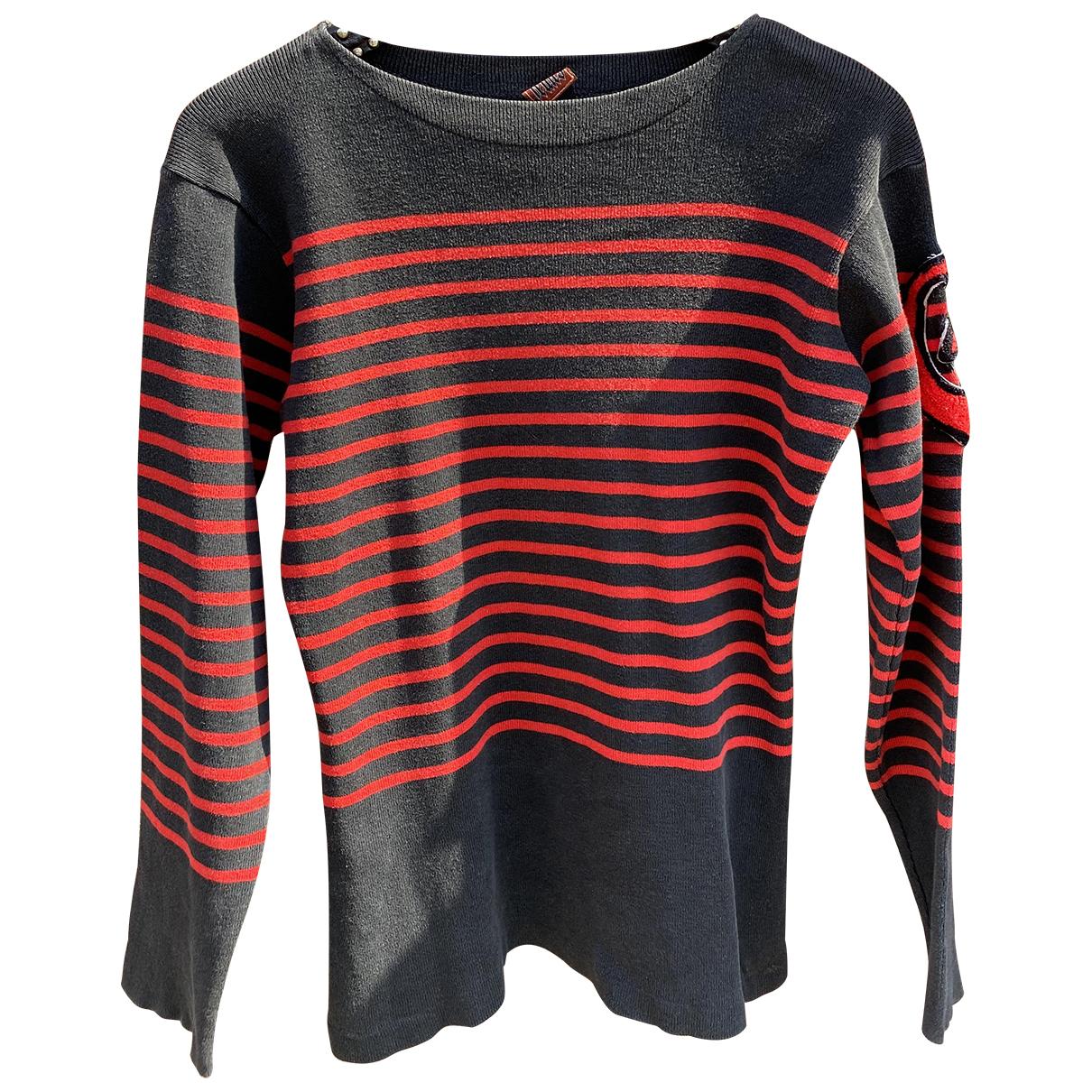 Jean Paul Gaultier N Red Cotton Knitwear for Women 38 FR