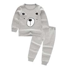 Boys Cartoon Print Pajama Set