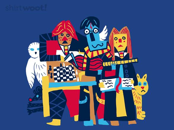 Three Magicians T Shirt