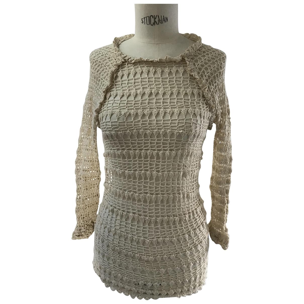 Isabel Marant Etoile - Pull   pour femme en coton - ecru