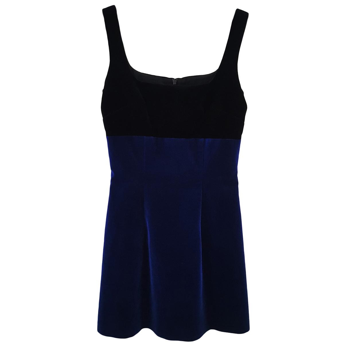 Mini vestido de Terciopelo Christopher Kane