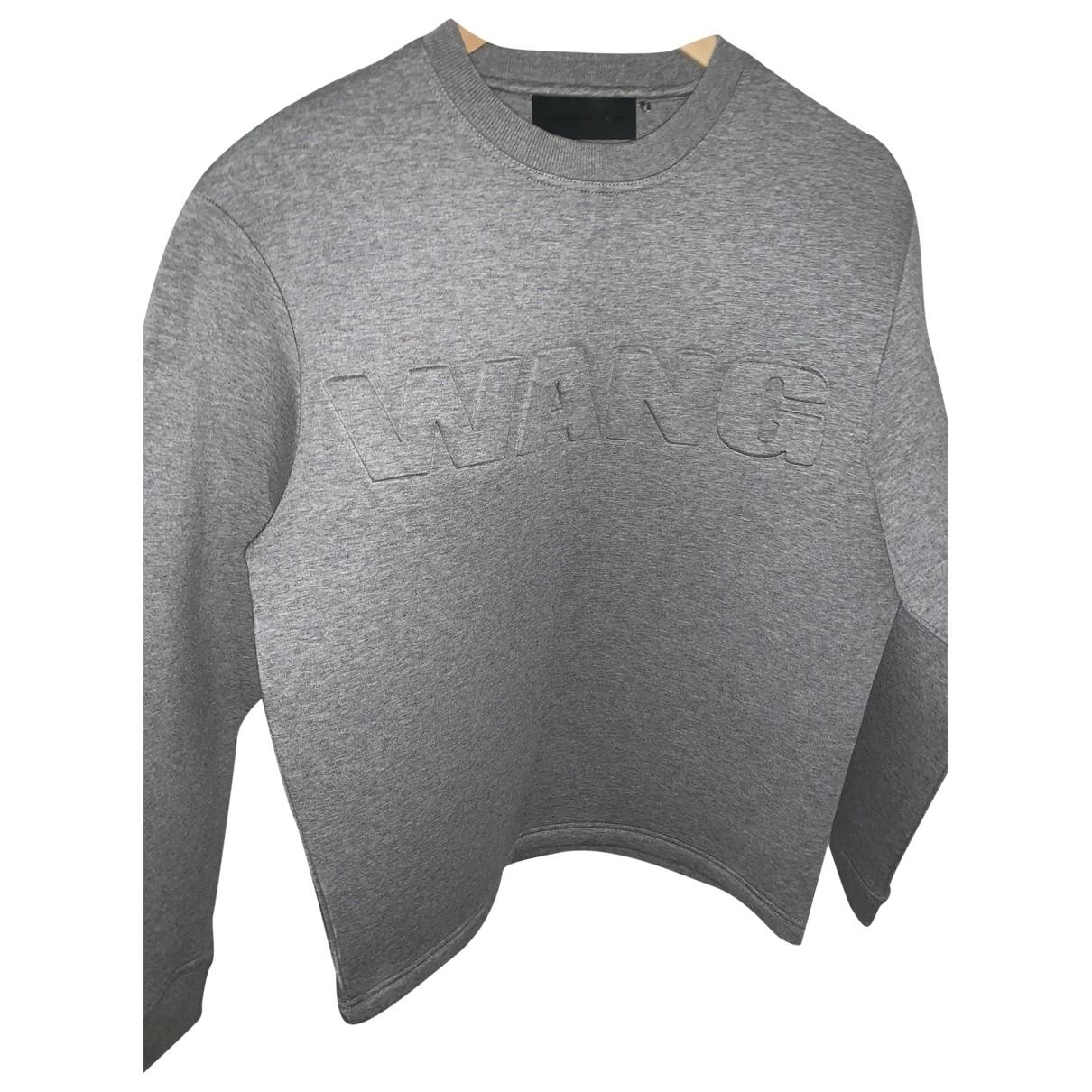 Alexander Wang Pour H&m \N Pullover.Westen.Sweatshirts  in  Grau Baumwolle