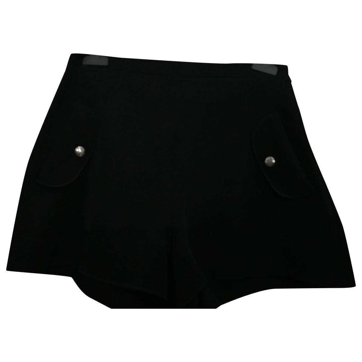Longchamp \N Black Shorts for Women 36 FR